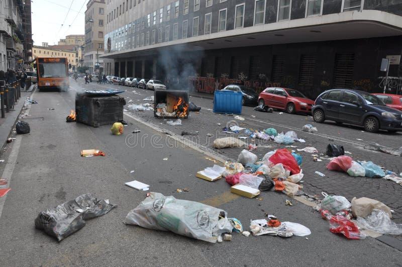 Strike In Naples Editorial Image