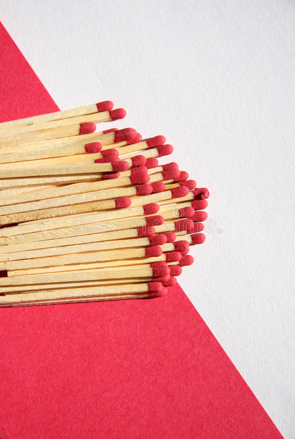 Strike And Paper Royalty Free Stock Images