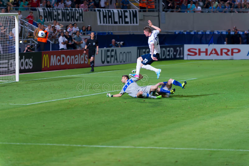 Download Striker In Action Editorial Photo - Image: 31438861