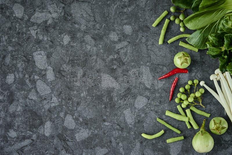 Strikt vegetarian för nya grönsaker arkivbild