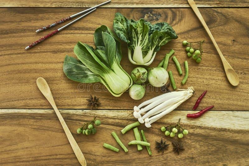 Strikt vegetarian för nya grönsaker royaltyfri fotografi