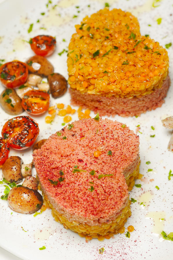 Strikt vegetarianmat arkivfoton