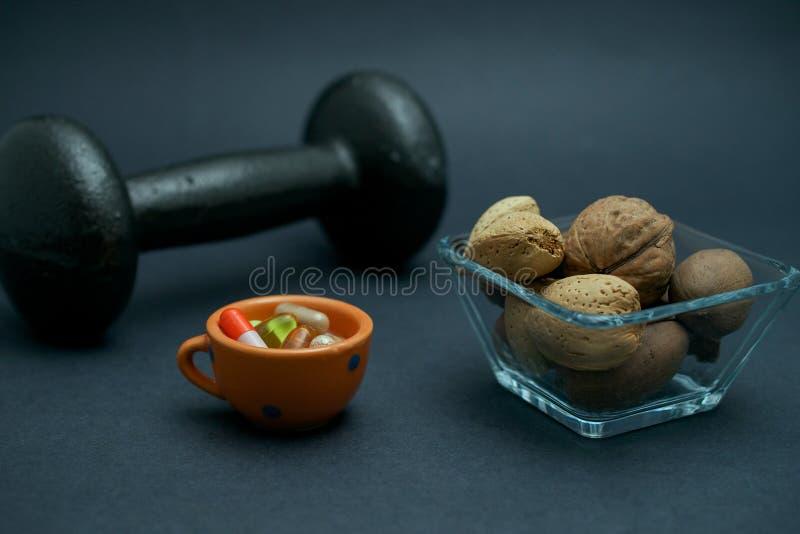 Strikt vegetarianmuskelbyggnad arkivfoton