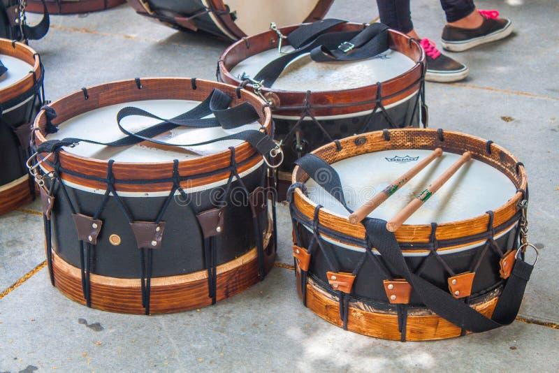 Striktrommel, Trommel, Tom Tom Drum, Timbales royalty-vrije stock afbeelding