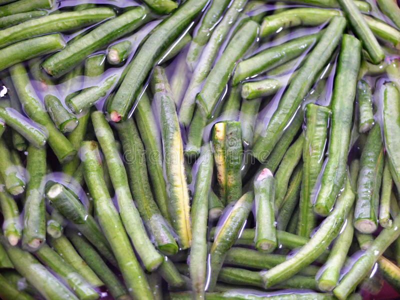 String Beans Stock Photography