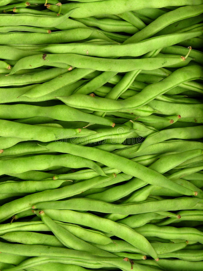 String Beans royalty free stock images