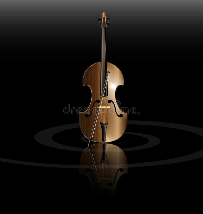 Download String instrument stock vector. Illustration of black - 27010007