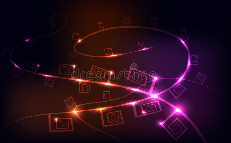 String lights, background stock photography
