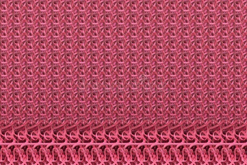 String mat geometric backdrop. For graphic design or background, CGI composition. 3D render. Geometric backdrop, string mat, CGI composition. For web page vector illustration