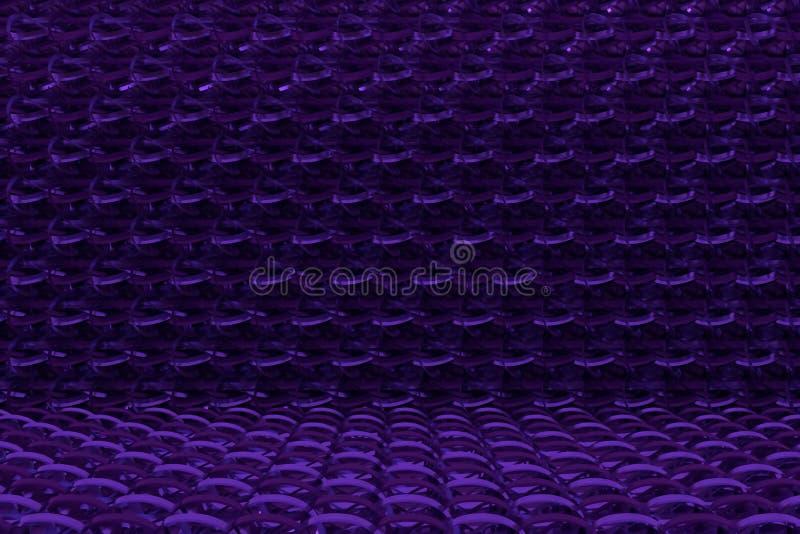 String mat geometric backdrop. For graphic design or background, CGI composition. 3D render. Geometric backdrop, string mat, CGI composition. For web page royalty free illustration