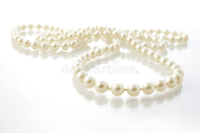 Download String of Pearls stock image. Image of birthday, precious - 483789