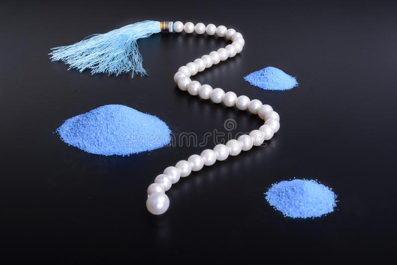 String of pearls stock image
