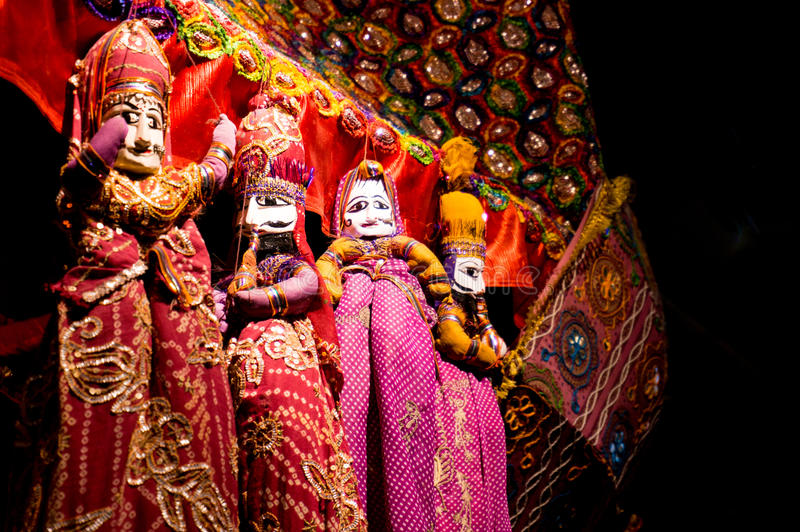 String puppets of Rajasthan India