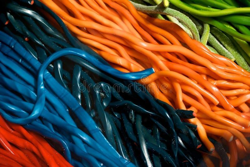 Stringhe della caramella immagine stock