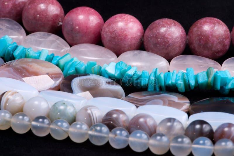 Download Strings of gem stones beds stock image. Image of gems - 7845561