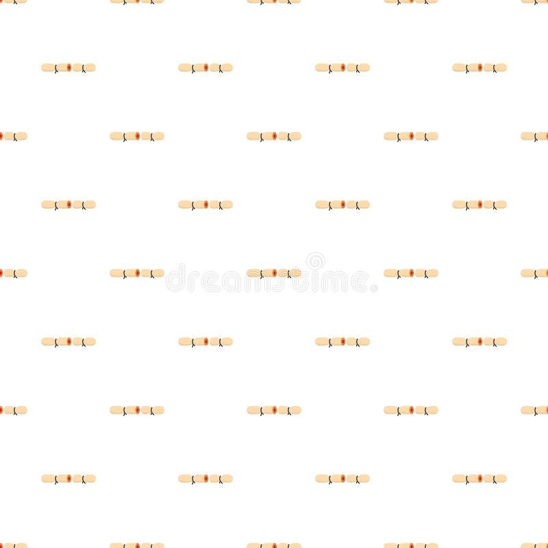 Strip contraceptive pattern seamless vector. Repeat for any web design royalty free illustration