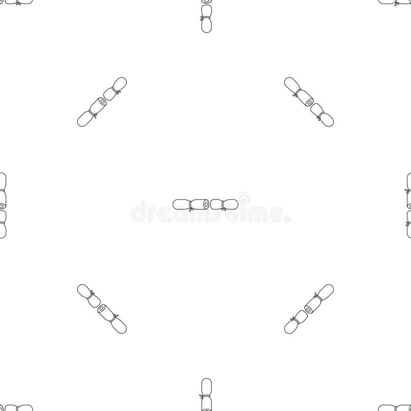 Strip contraceptive pattern seamless vector. Repeat geometric for any web design vector illustration