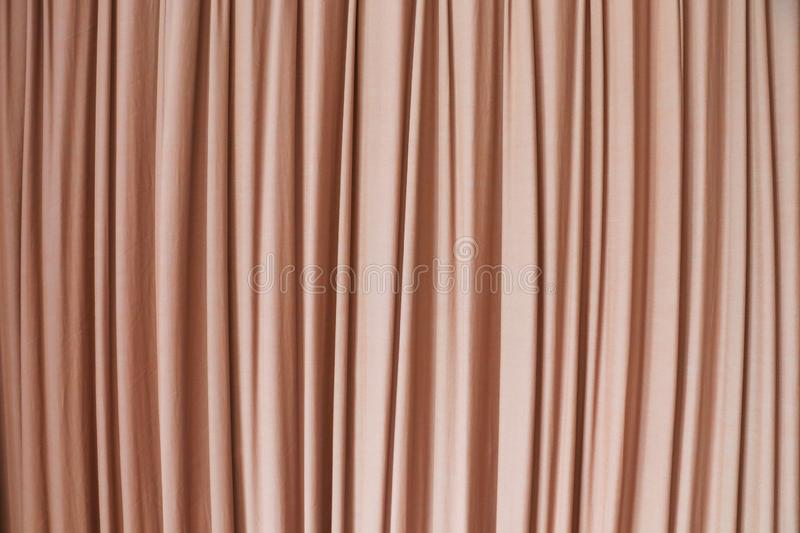 Strip curtain texture background. In hotel stock images