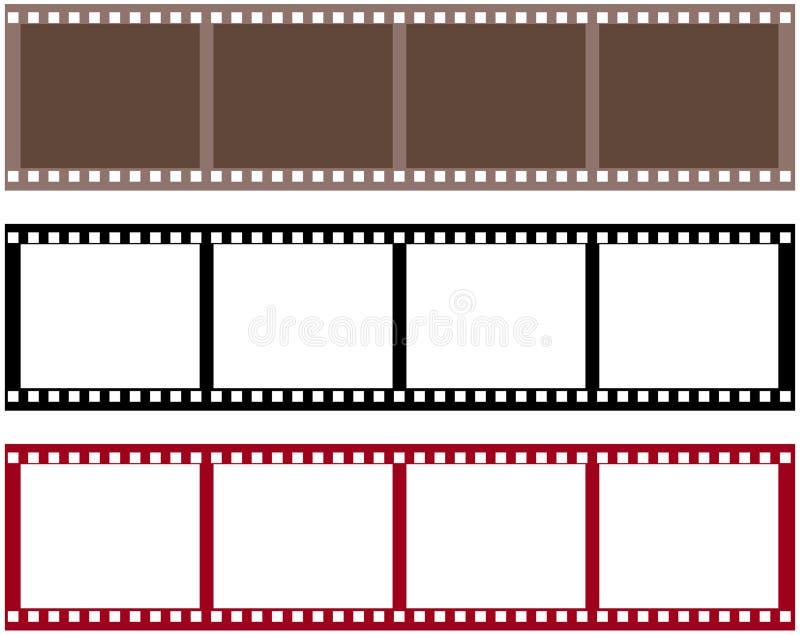 Strip film stock image