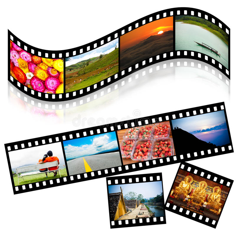 Download Strip Film Colorful Royalty Free Stock Photography - Image: 26607607