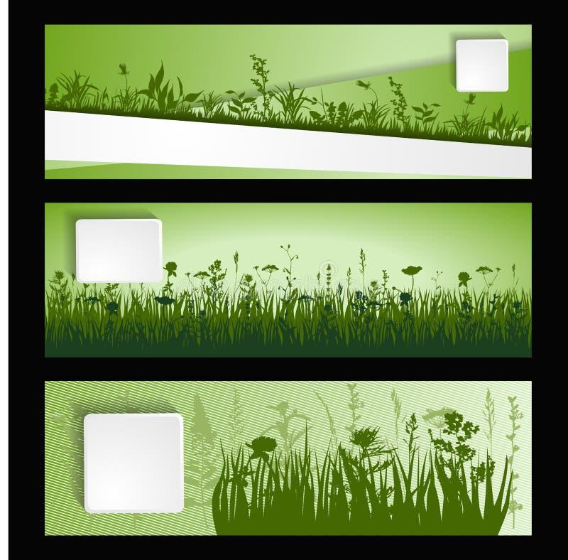 Strip of grass vector illustration