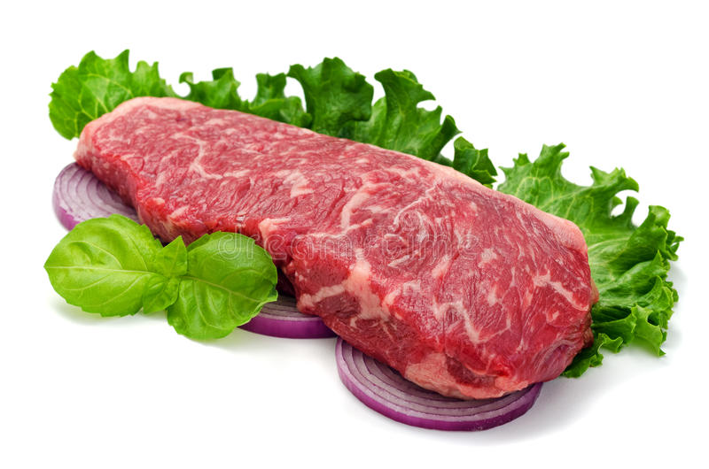 Strip Loin Steak stock image