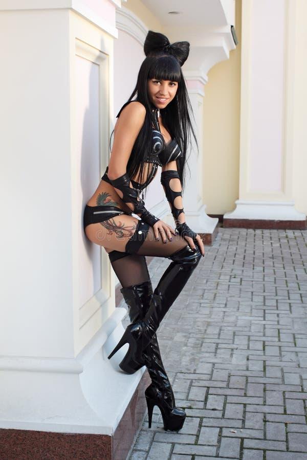 Strip-teaseuse photo libre de droits