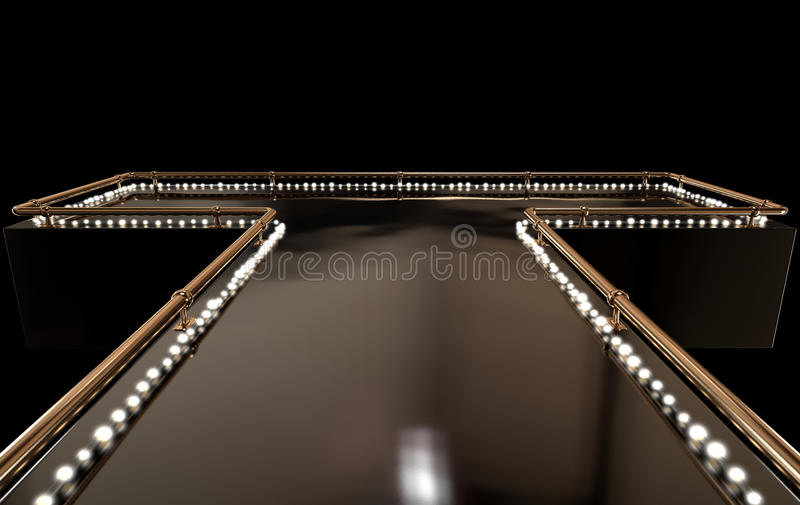 Strip-teaseuse Stage photographie stock