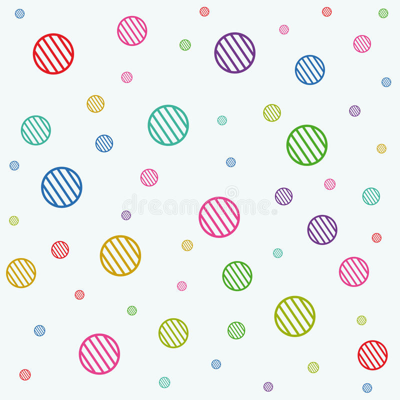 Download Stripe circles texture stock vector. Illustration of funky - 16033822