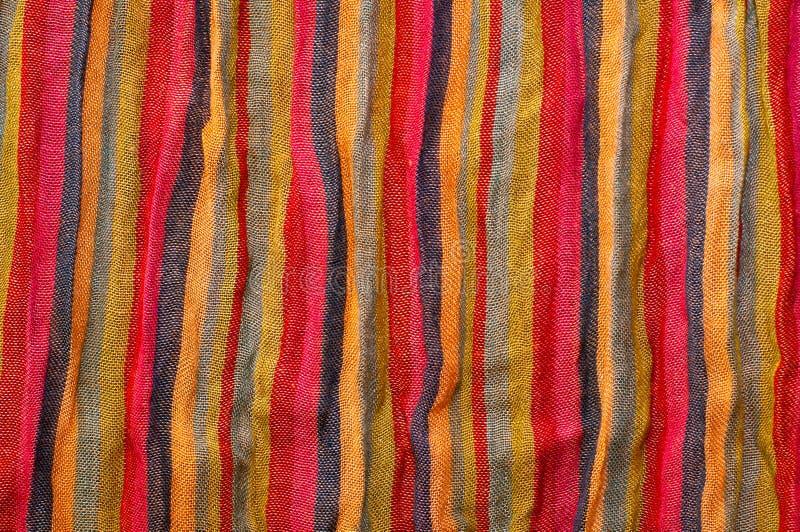 Stripe fabric texture stock photography