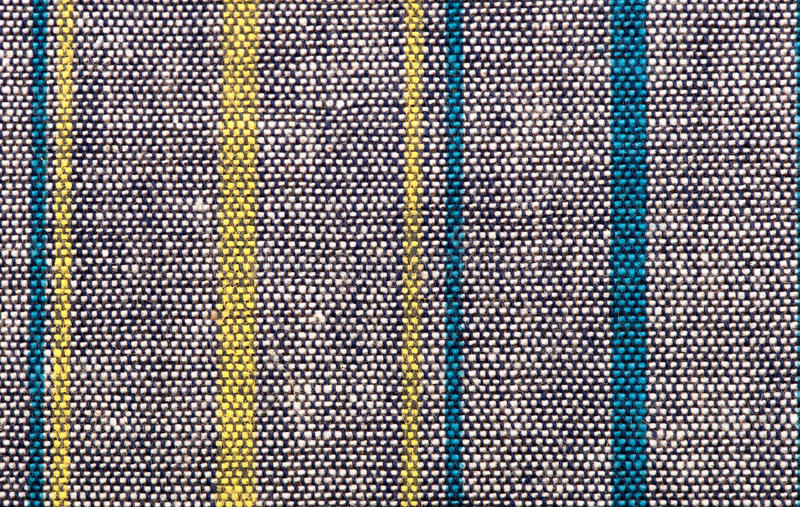 Stripe Fabric Texture Royalty Free Stock Images