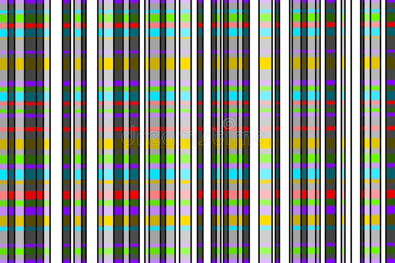 Stripe pattern with bright colors vector illustration