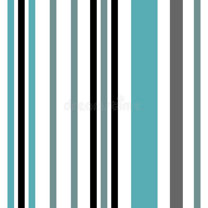 Stripe seamless pattern with blue and white vertical parallel stripe.Vector abstract pattern stripes background. vector illustration
