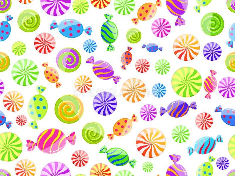 striped безшовное картины конфеты цветастое бесплатная иллюстрация