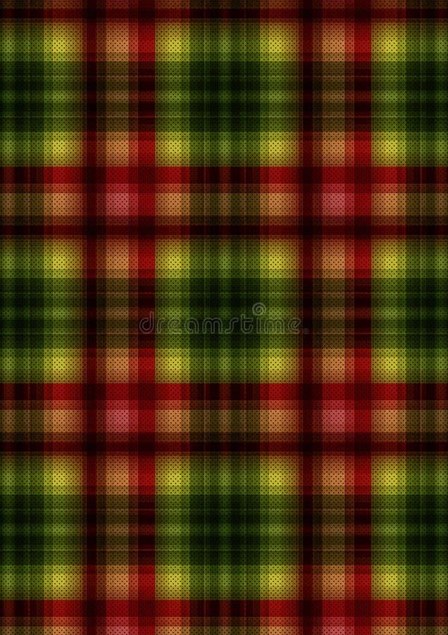 Striped и шотландка на ткань 3 стоковое фото