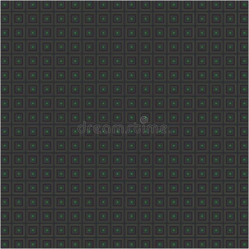 Striped квадраты Chequered безшовная текстура ткани предпосылки вектора иллюстрация штока