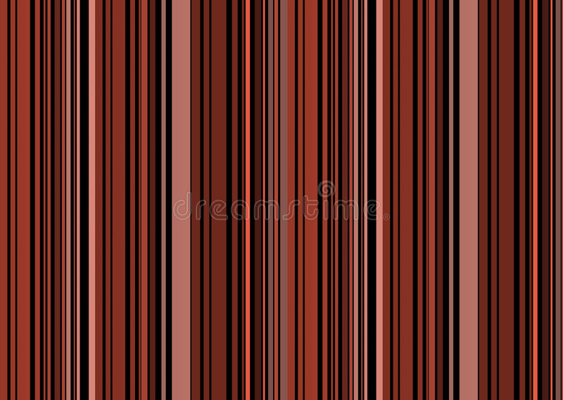 striped ретро предпосылки коричневое стоковое изображение