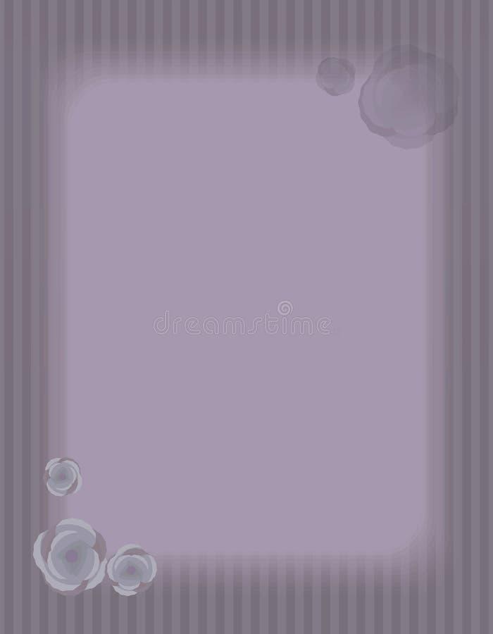 Striped свет - страница с пустой светлой прямоугольной зоной для надписи, большой состав фиолетового старого ретро вектора вертик бесплатная иллюстрация