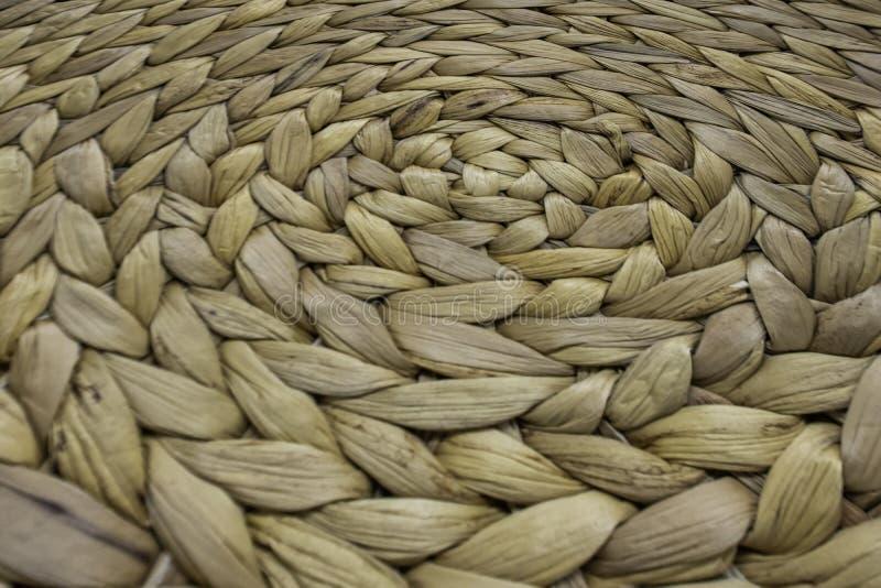 Striped сплетенная веревочка используемая как предпосылка стоковая фотография