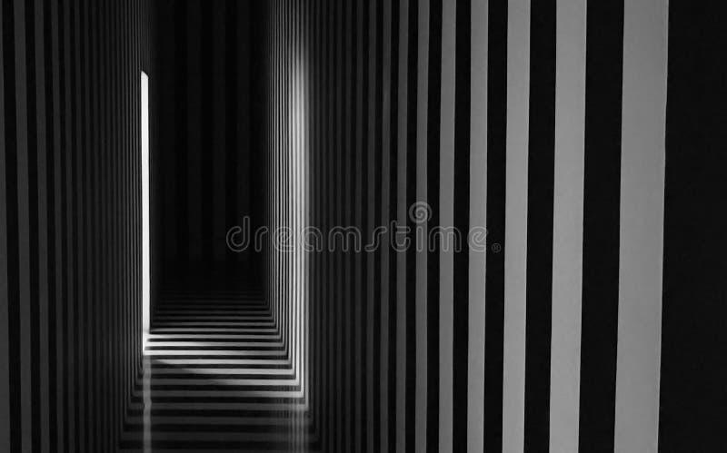 Striped фон студии стоковые изображения