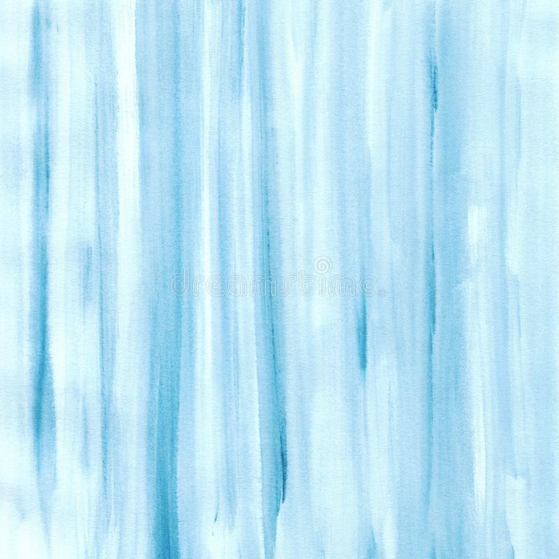 Blue watercolor texture background, hand painted royalty free illustration