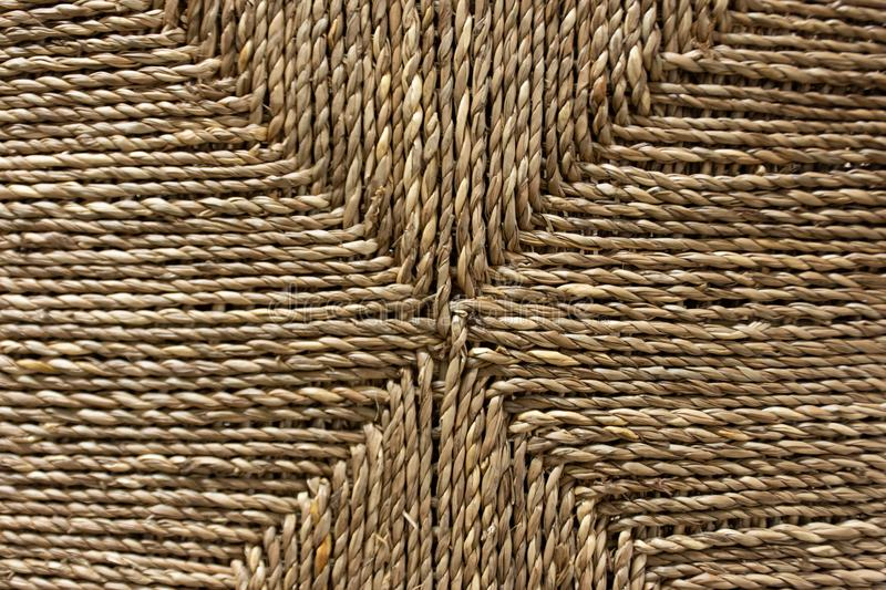 Striped braided rope Used as a background. stock photos