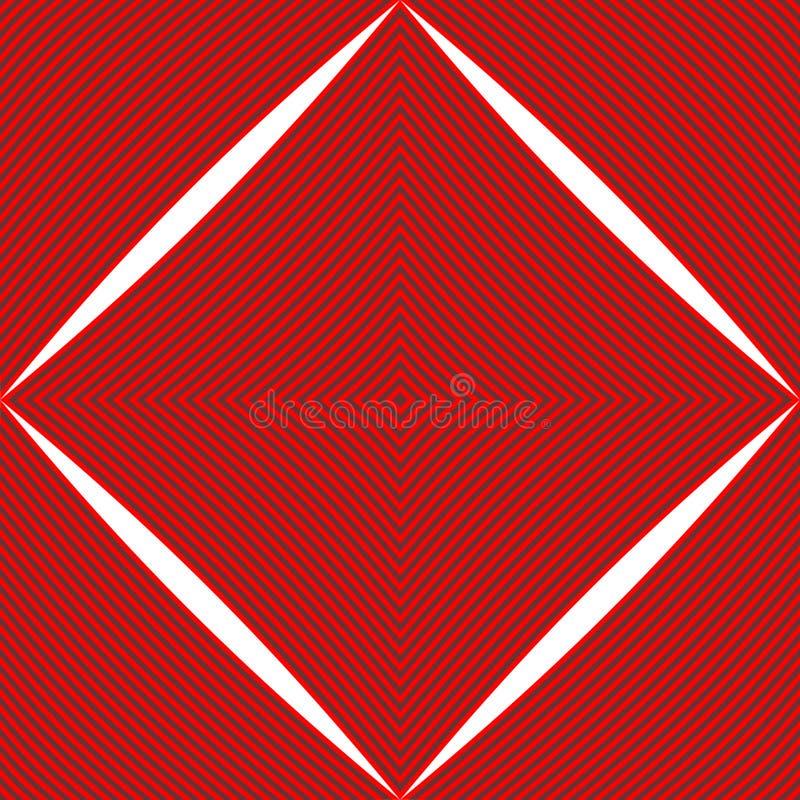 Striped Diamond Pattern Royalty Free Stock Photos