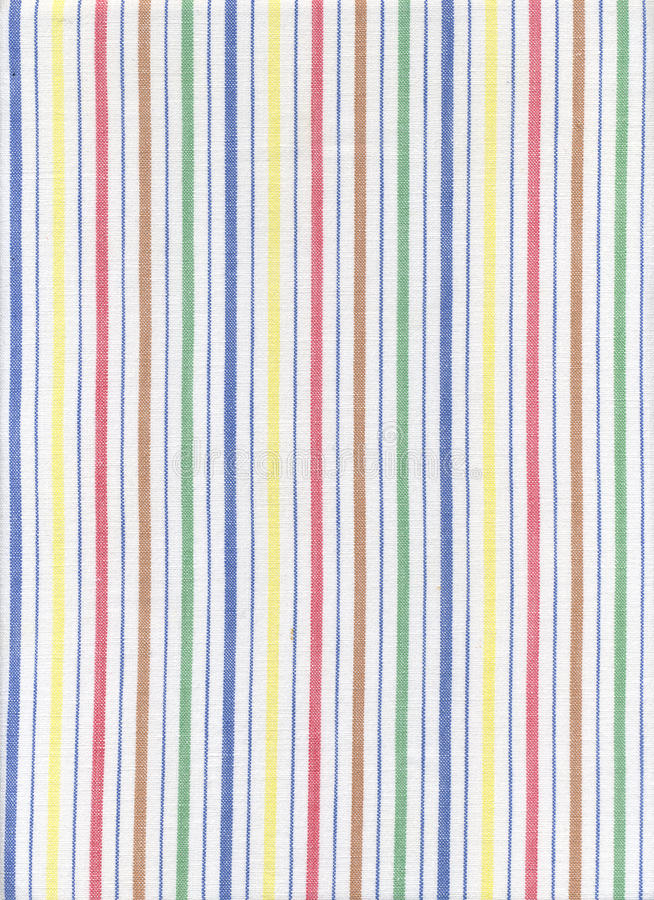 Striped fabric stock image