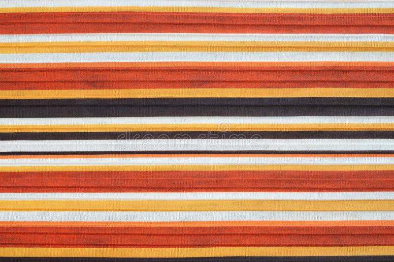 Striped fabric backgrounds and textures, colorful striped fabric. Striped wool texture stock photography
