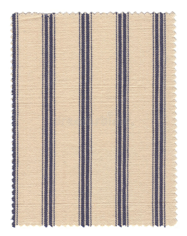 Download Striped Fabric swatch stock photo. Image of blue, edge - 14375118