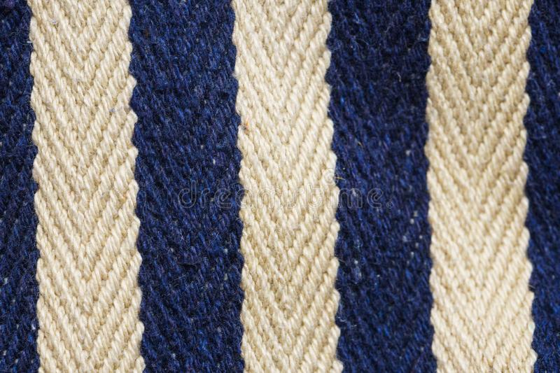 Striped Fabric texture. Herringbone tweed close up stock images