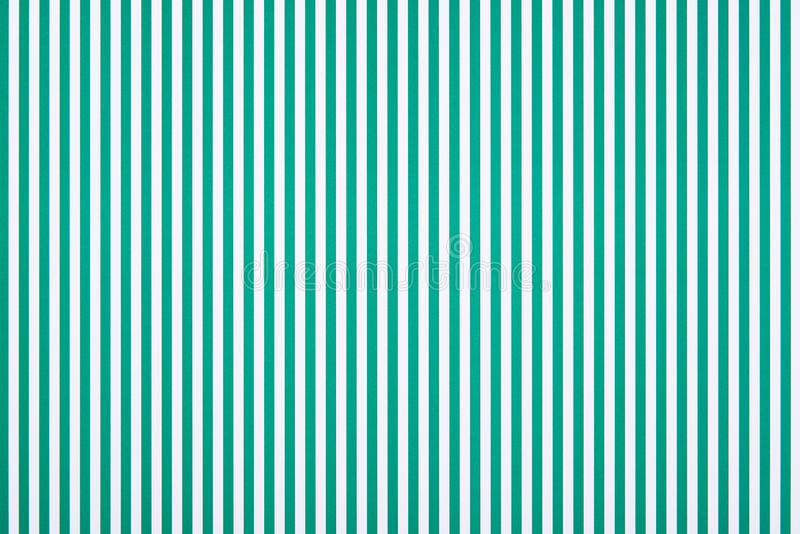 Striped green and white stock images