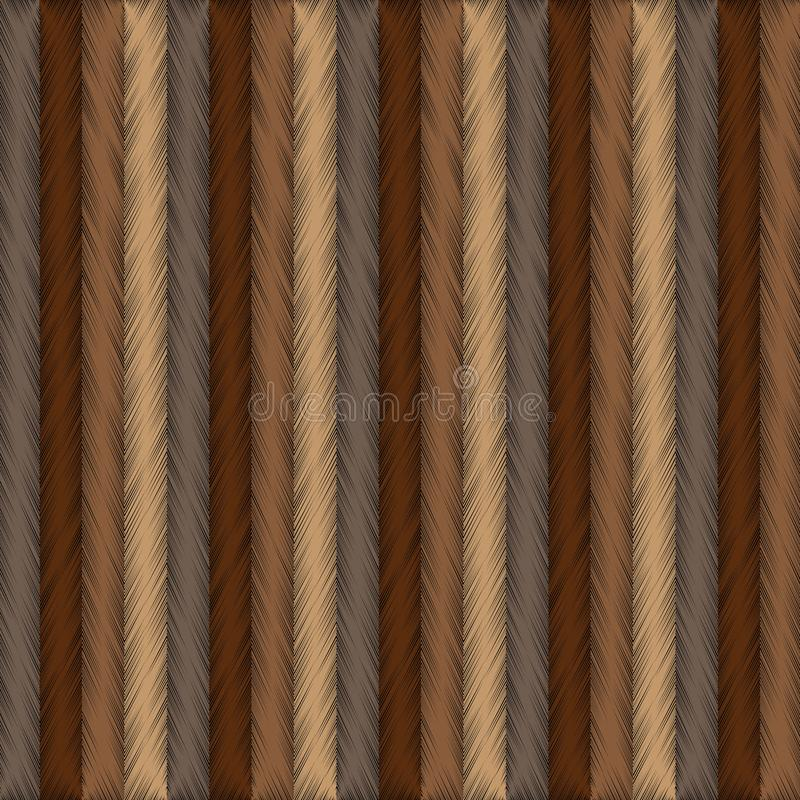 Striped grunge tapestry style textured 3d pattern. Striped grunge tapestry style 3d textured pattern. Vector abstract embroidery background. Vertical grungy vector illustration