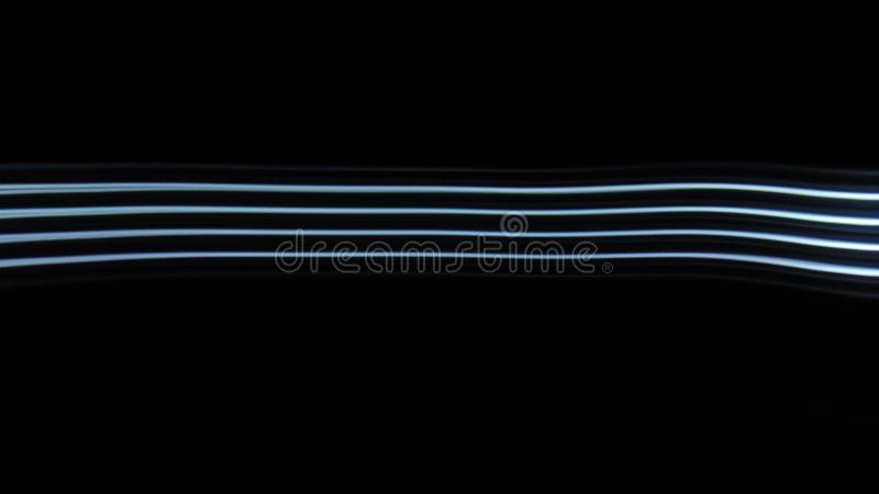 Striped Light Trails. Photography from a flashlight royalty free stock photography